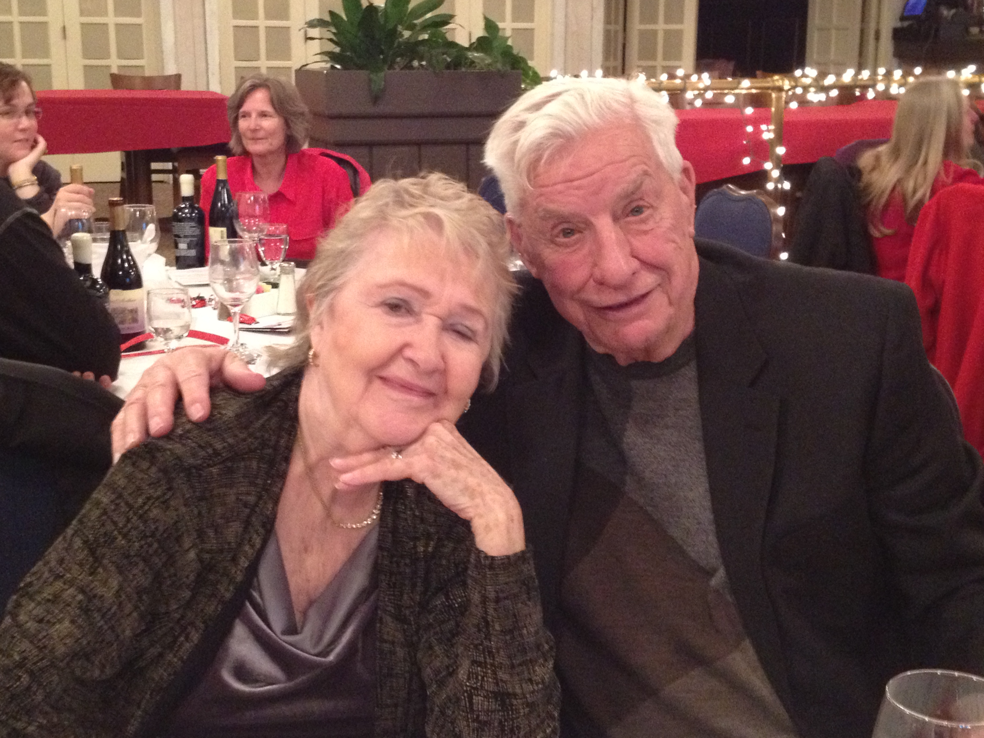 Del Weigand (former Husker quarterback) and his wife